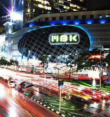 Bangkok:  City of Colors (MikeBehnken) Tags: canon bangkok cab taxi taxis powershot pointandshoot cabs newcamera canonpowershot lightstreams lightstream bangkokthailand top20longexposure s95 mbkshopping canons95