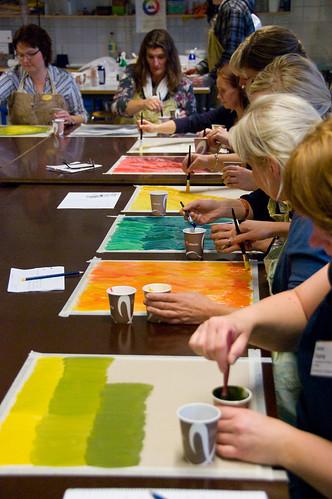 Workshop om skapande för förskolebarn