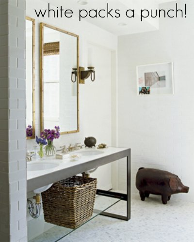 Nate Berkus White Bathroom