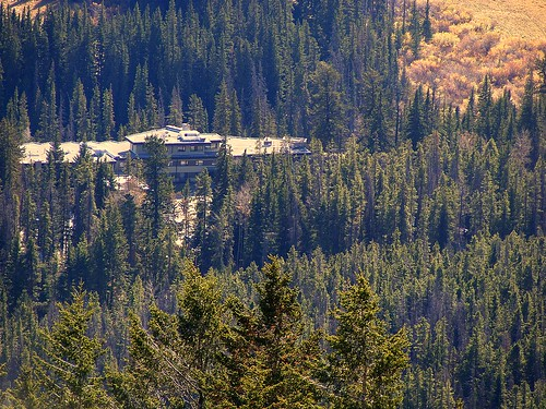 Juniper Hotel from Mt.Norquay