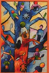 l'albero (Roberto Valenzano) Tags: quadro colori artista quadri espressionismo dipinto astrattismo lalbero atrte