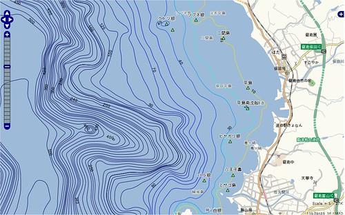 釣りポイント(千葉県、房総半島、保田)