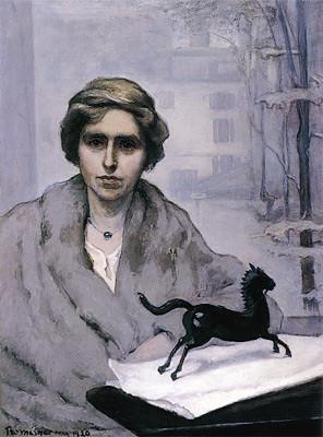 Romaine Brooks, Miss Natalie Barney, L'Amazone, 1920