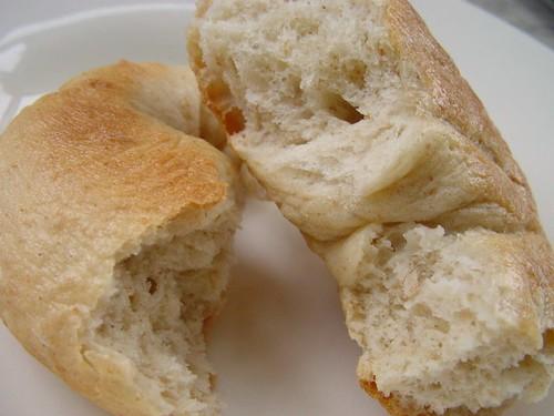 bagel crumb