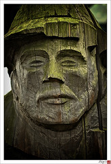 Face from the past (Free 2 Be) Tags: wood man face carving weathered granvilleisland