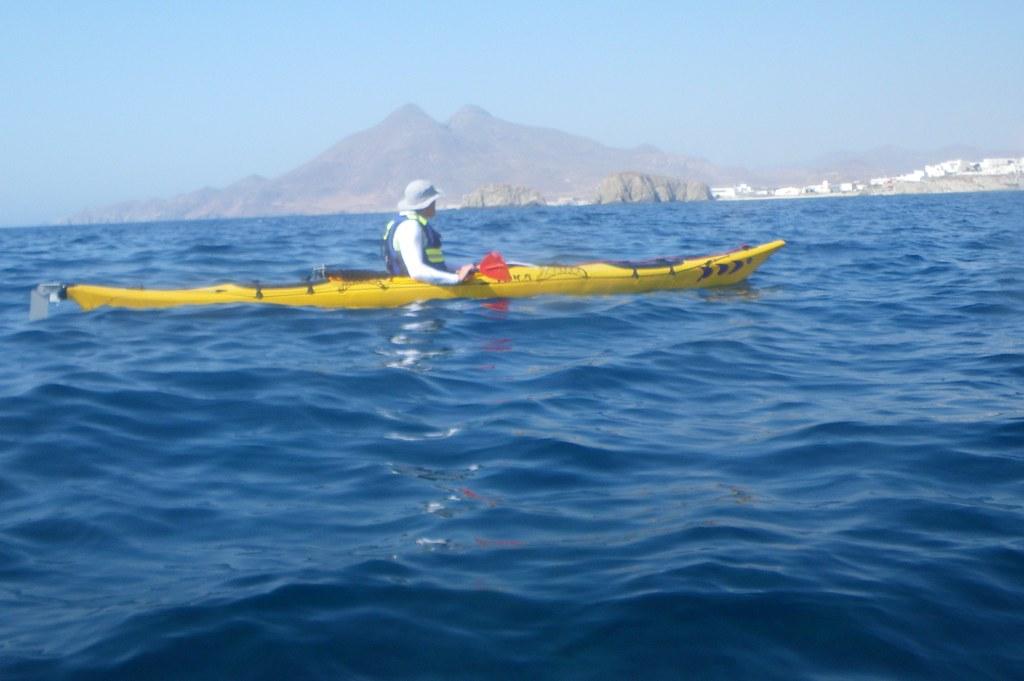 Cabo de Gata en kayak 374