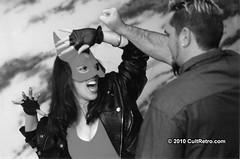 The Savage She-Cat (CultRetro) Tags: woman hot sexy female costume model cosplay attack adventure bikini convention comicbook actress heroine fitness catwoman peril hentai zentai superheroine billblack shecat ryona femforce cultretro accomics nightveil mariaparis bluebulleteer