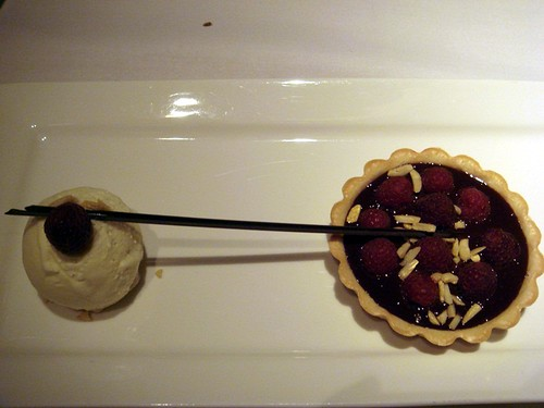 Chocolate  raspberry tart@Mosaic Sydney