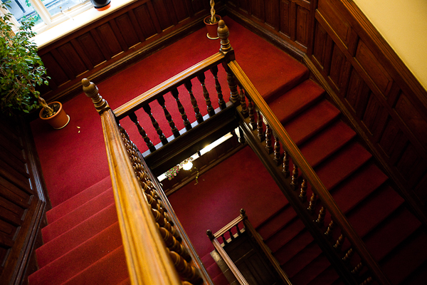 Escalier du Palmer Lodge