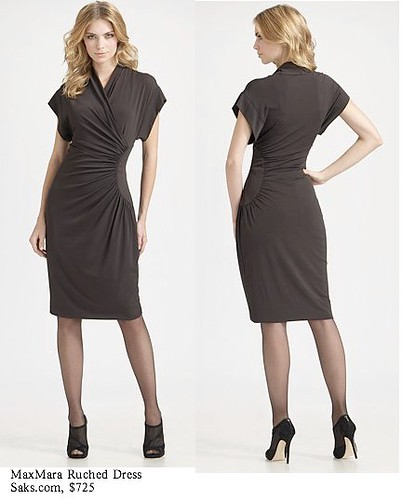 Saks.com - MaxMara - Ruched Dress
