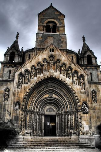 Vajdahunyad castle church. Budapest. Iglesia del castillo Vajdahunyad