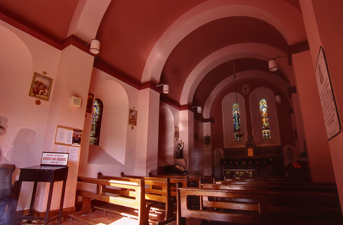 Gougane Barra Church Interior