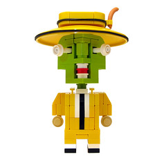 CubeDude - The Mask (Sir Nadroj) Tags: lego mask angus jim dude cube carrey maclane cubedude