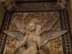 Audite, sum Sapientia (miltonmic) Tags: france angel catholic basilica knowledge wisdom winged église fourvière rhonealpes e510 sapientia neobyzantine basiliquenotredamedefourvière olympuse510 miltonmic 1260mmf284 lyon01