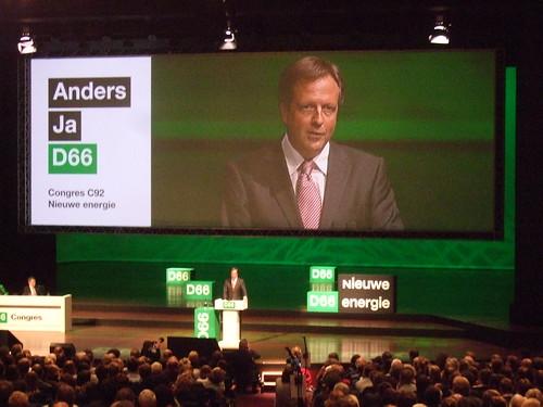 Alexander Pechtold op congres D66