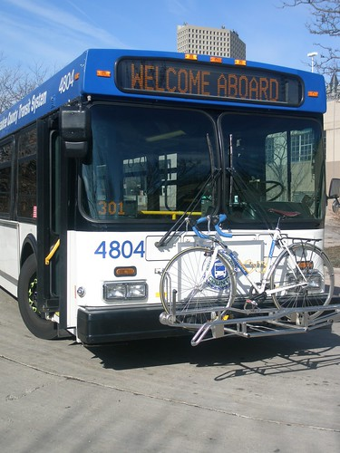 Milwaukee Bike Racks on Buses