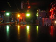 Nachts an der Bar