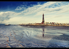 Blackpool memories, Monkey sales?, Explored + Frontpage! (Ianmoran1970) Tags: blue sea sky colour tower memories explore fp frontpage blackpool explored ianmoran ianmoran1970