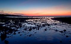 Ocean near Danshui (ryklin) Tags: sunset sea beach colors interesting nikon colorful scenic taiwan tokina nikond90 tokina1116mmf28
