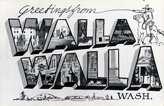 Greetings from Walla Walla, Washington - Large Letter Postcard (Shook Photos) Tags: washington postcard postcards greetings wallawalla bigletter largeletter wallawallawashington largeletterpostcards bigletterpostcard largerletterpostcard bigletterpostcards