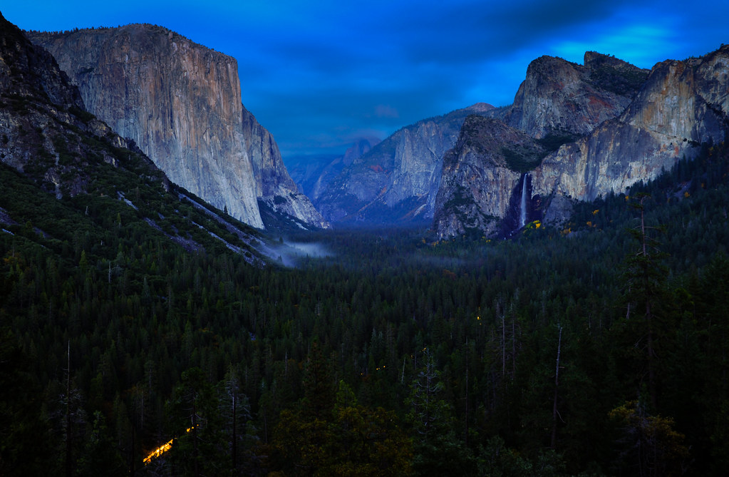 Twilight from Tunnel View