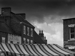 Market Place, Gainsborough (LincsRanger64) Tags: old uk england history awning market unitedkingdom lincolnshire historical marketplace gainsborough silverstreet dn21
