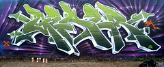 Turn back the clock... (GESER 3A) Tags: green art sushi japanese graffiti daylight blog image earth spray 3a crew buffet capture fitness eco obesity belton kem ges molotow kem5 kems kemr geser gesone ges1