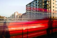 (25) (Donato Buccella / sibemolle) Tags: street red italy milan colors self shadows milano streetphotography fast navigli sibemolle pontedellemilizie wrooommmm mg10621 ilfuturorossooooo