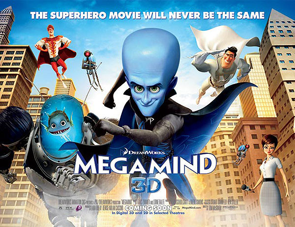 Megamind in 3D - Alvinology
