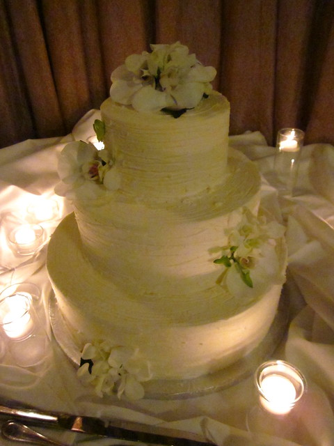 The wedding cake!