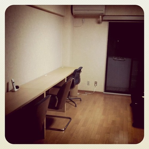 今日のオフィス