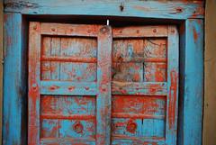 Painted Door, Jodphur (Peter Cook UK) Tags: painteddoor jodphur