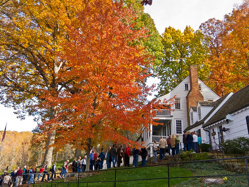 Colors of Fall:  Mitchie Tavern