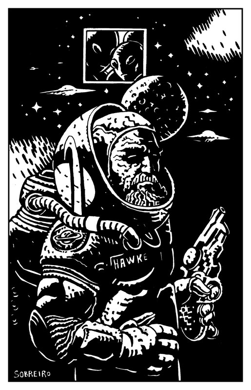 Jeff Hawke by Felipe Sobreiro