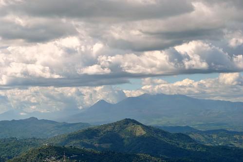 Vista Panoramica desde El Mirador de la Giralda, Comasagua
