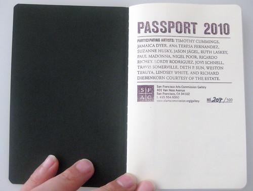 SFAC Passport 2010