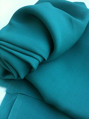 Crepe de georgette in silk