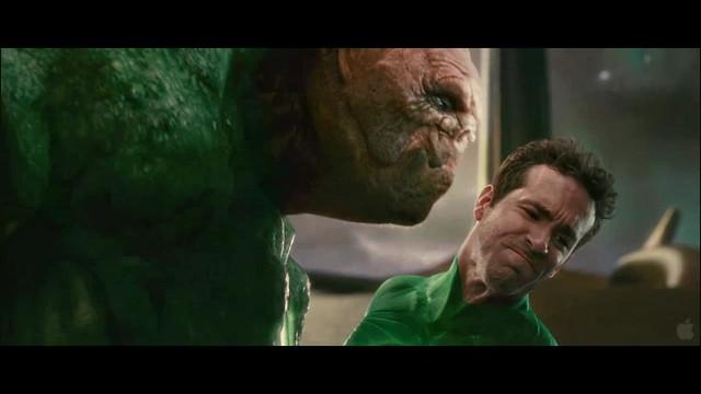 Linterna Verde escena Hal y Kilowog