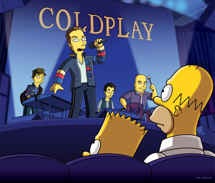 Simpson - Coldplay