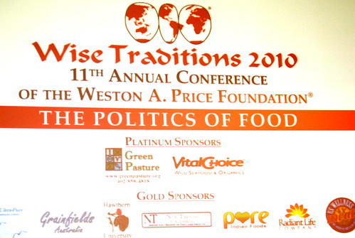 Wise Traditions 2010