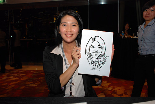 caricature live sketching for 2010 Asia Pacific Tax Symposium and Transfer Pricing Forum (Ernst & Young) - 5