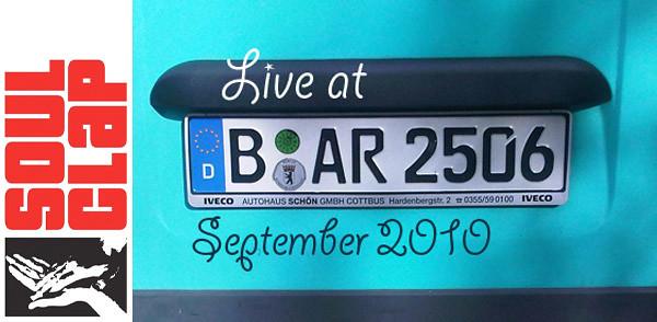 Soul Clap Episode 79: Live at Bar25 September 2010 (Image hosted at FlickR)