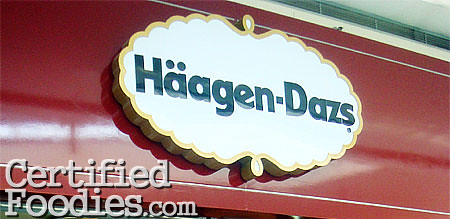 Haagen-Dazs in SM Mall of Asia - CertifiedFoodies.com
