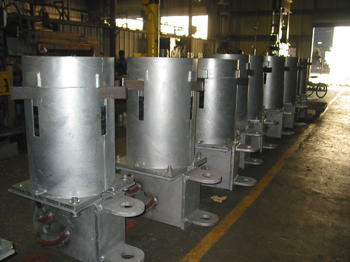 58,000 lb. Load Constant Hangers for an Oil Refinery