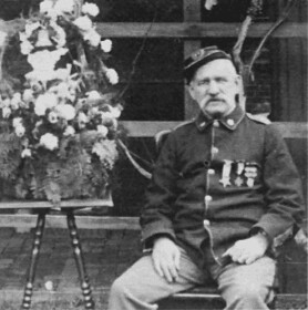 Image of James Dukenfield in Civil War uniform