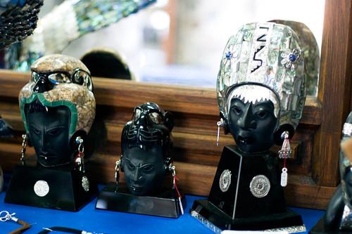 Cabezas de obsidiana