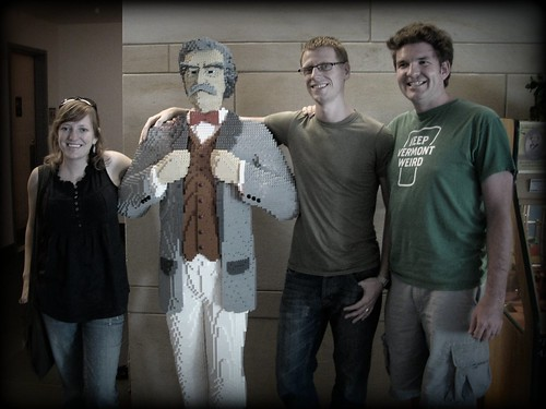 chris rae + lego mark twain