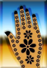 Mehndi design3 (Senior Graphic Designer) Tags: work pattern artistic creative henna mehndi seamless drowing heena