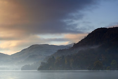 A MISTY START (Steve Boote..) Tags: mist lake mountains sunrise landscape dawn lakedistrict cumbria gitzo ullswater glenridding northwestengland leefilters sigma50mm14 koodfilters steveboote canoneos550d