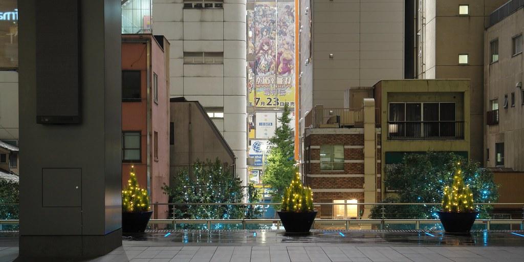 Akihabara UDX illumination